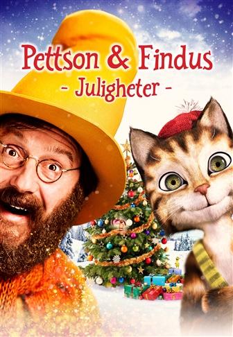 Filmposter för Pettson och Findus – Juligheter (Sv. tal)