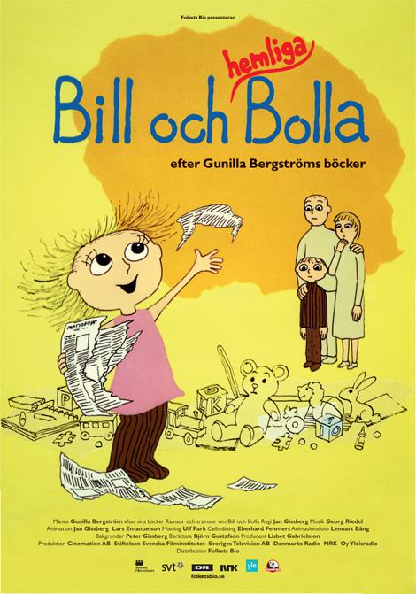 Bill och Hemliga Bolla poster
