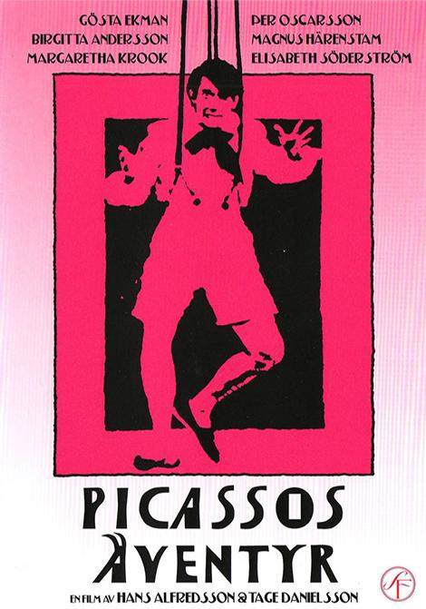 Picassos äventyr poster
