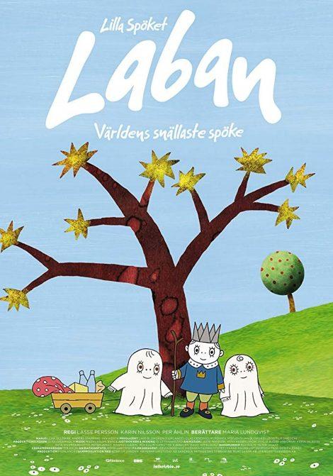 Lilla Spöket Laban -Världens snällaste spöke poster