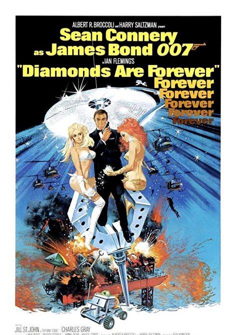 James Bond: Diamantfeber poster
