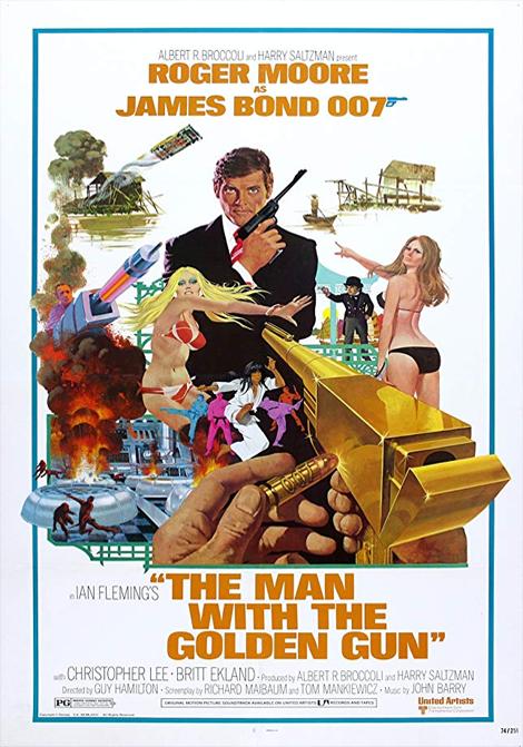 James Bond: Mannen med den gyllene pistolen poster