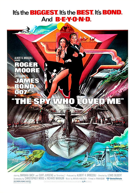 James Bond: Älskade spion poster