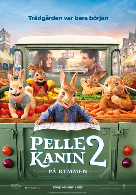 Pelle Kanin 2: På rymmen poster