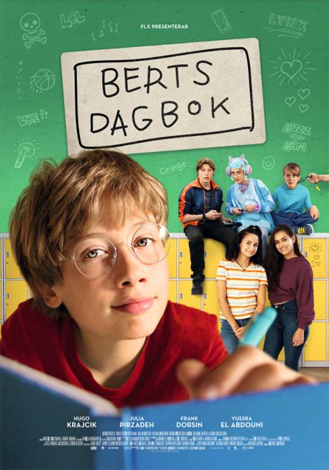 Berts Dagbok poster