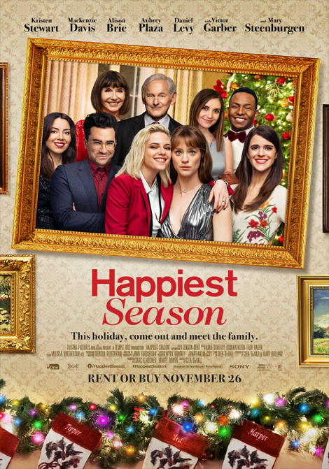 The Happiest Season poster
