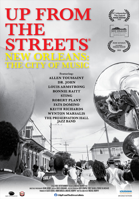 Up From the Streets - New Orleans: The City of Mus poster