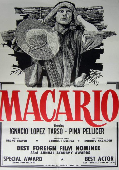 El dia de los muertos Macario poster