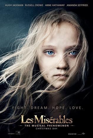 UEFF: Les Misérables sing-along poster