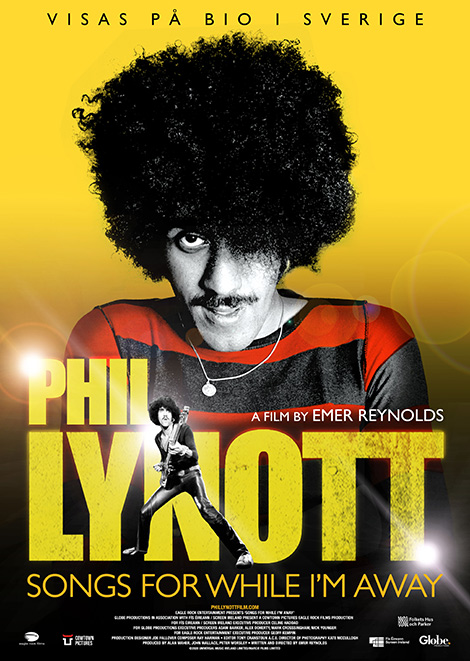 Filmposter för Phil Lynott – Songs For While I'm Away