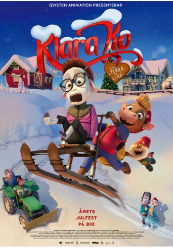 Filmposter för Klara Ko firar jul
