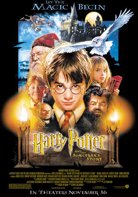 Harry Potter och de vises sten poster