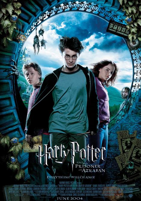 Harry Potter och fången från Azkaban poster