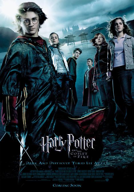 Harry Potter och den flammande bägaren poster