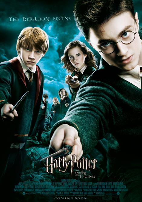 Harry Potter och Fenixorden poster