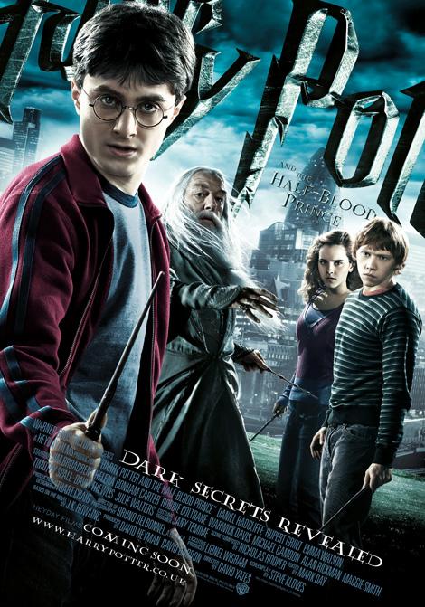 Harry Potter och Halvblodsprinsen poster