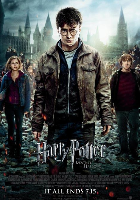 Harry Potter och dödsrelikerna - del 2 poster