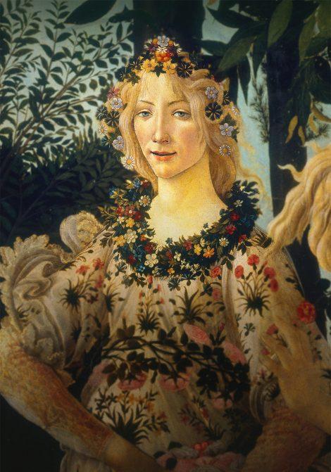 Botticellis Florens poster