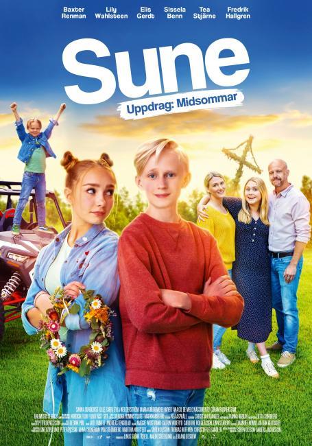 Sune - Uppdrag midsommar (Sv. txt) poster