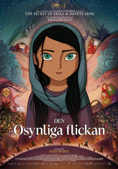 Den osynliga flickan poster