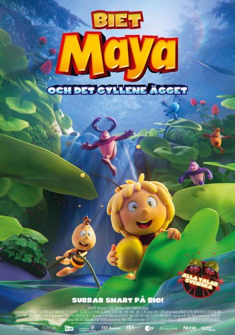 Biet Maya och det gyllene ägget poster