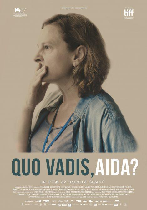 Quo Vadis Aida? poster
