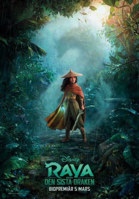 Raya och den sista draken poster