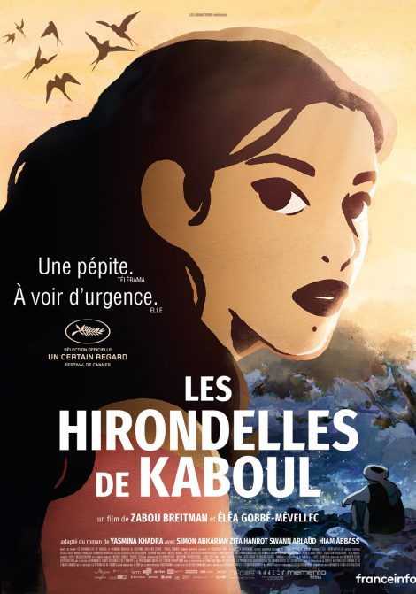 Les hirondelles de Kaboul poster