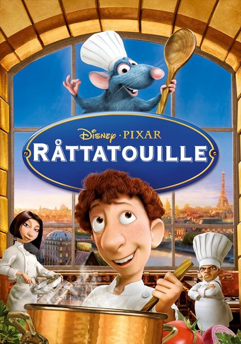 Råttatouille poster