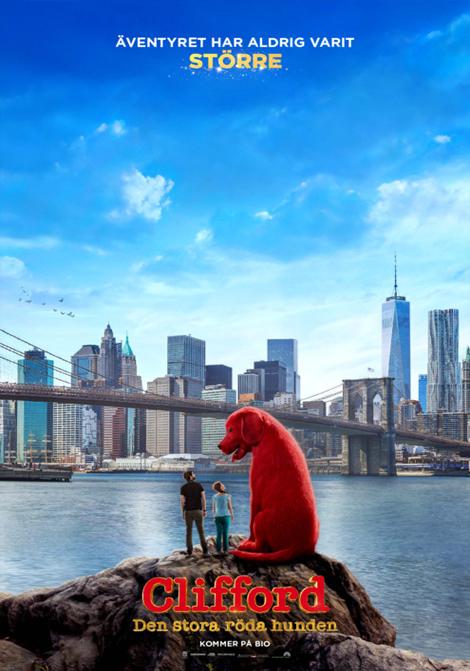 Clifford den stora röda hunden (Sv. tal) poster