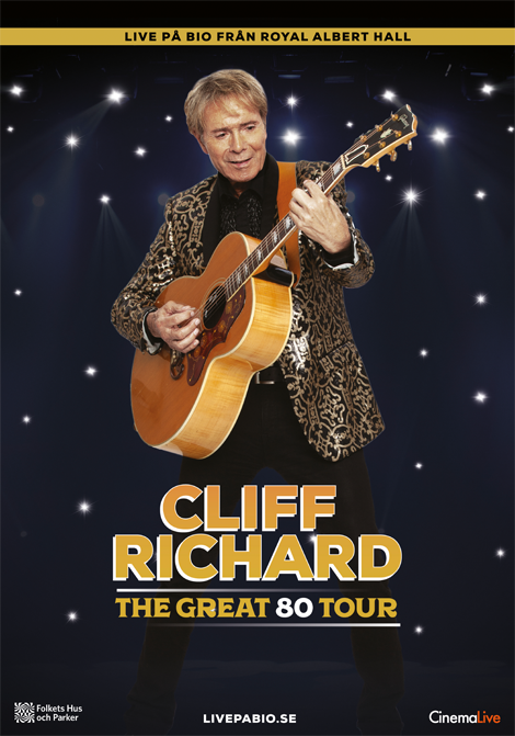 Cliff Richard: The Great 80 Tour poster