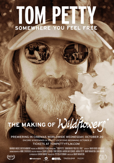 Tom Petty: Somewhere You Feel Free poster