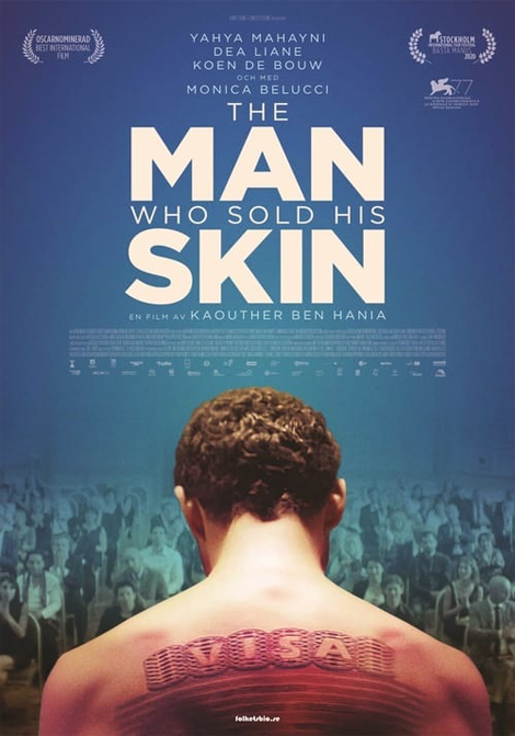FilmfestiMARK: The man who sold his skin poster