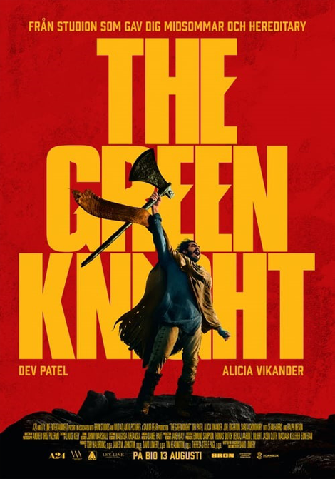 FilmfestiMARK: The Green Knight poster