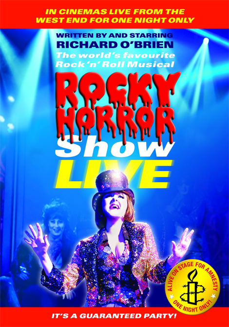 The Rocky Horror Show Live poster